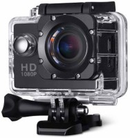 Mezire Action Shot HD 1080P Ultra HD Waterproof Digital Camera Multiple Photo Shooting Mounted Suitable Sports and Action Camera(Black, 12 MP) Sports and Action Camera(Black, 12 MP)