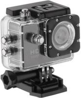 Mezire Action Shot HD 1080P Sports Action Camera 2-inch LCD Camcorder Underwater Waterproof Sports and Action Camera(Black, 12 MP) Sports and Action Camera(Black, 12 MP)