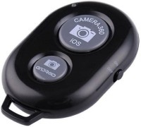 TRENTECH Wireless Bluetooth Shutter Button Selfie Remote Supported iOS & Android  Camera Remote Control(Multicolor)