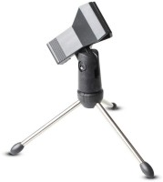 SHAFIRE Microphone Clip Holder Stand (Black and Silver) Tripod Kit(Black, Silver, Supports Up to 200 g)