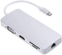 Edio2Ezone USB 3.1 Type C to USB 3.0 Hub USB Adapter(Silver)