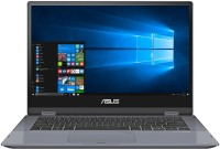 View Asus Vivobook Flip 14 Core i3 8th Gen - (8 GB/512 GB SSD/Windows 10 Home) TP412UA-EC305T 2 in 1 Laptop(14 inch, Silver Blue) Laptop