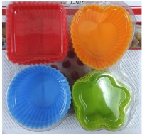 AGROMECH Cupcake/Muffin Mould(Pack of 12)