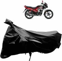 CHROMOTO Two Wheeler Cover for Universal For Bike(Dream Yuga, Black)