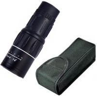 eDUST 16x52 Powerful Prism Outdoor Travel Monocular(52, Black)