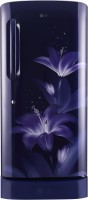 View LG 215 L Direct Cool Single Door 5 Star Refrigerator(Blue Glow, GL-D221ABGY)  Price Online
