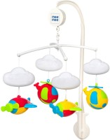 MeeMee 3 in 1 Musical Airplanes Cot Mobile(Multicolor)