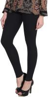 PIXIR Ankle Length Legging(Black, Solid)