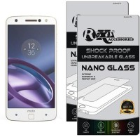 Roxel Nano Glass for Moto Z with Style Mod (White, 64 GB) (4 GB RAM)(Pack of 2)