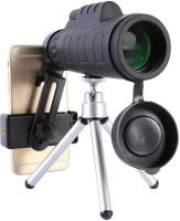 Goldtech HD Vision 35x50 Monocular Telescope Tourism Outdoor Hunting Monocular Comes with phone stand, Tripod(Black, Supports Up to 350 g)