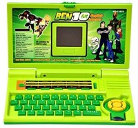 mega star 20 Activities & Games Fun Laptop Notebook Computer Toy for Kids(Multicolor)
