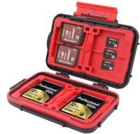 FND 24 SLOTS  Camera Bag(Black, Red)