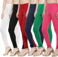 styleride Churidar  Legging(Multicolor, Solid)