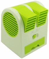 View eWAVE Durable Air Cooler Mini Fresh Air Cooler USB Fan Room Air Cooler(Green, 0.5 Litres)  Price Online