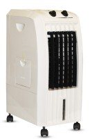 Akshat 12 Litre Personal Air Cooler (White) - with i-Pure Technology ( MADE IN INDIA) Tower Air Cooler(White, 9 Litres)