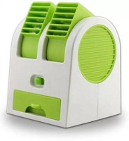 View eWAVE PORTABLE AC USB Fan Room Air Cooler(Green, 0.5 Litres)  Price Online