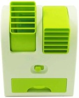 View eWAVE Portable Mini Air Conditioning Room Air Cooler(Green, 0.5 Litres)  Price Online