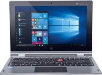 View iBall CompBook Atom Quad Core - (2 GB/32 GB EMMC Storage/Windows 10 Home) I360 2 in 1 Laptop(11.6 inch, Star Grey, 1.35 kg) Laptop