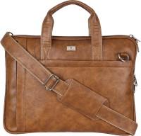 K London Men & Women Brown Messenger Bag