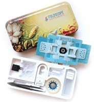 FOLDSCOPE Deluxe Individual Kit (DIK) - 100% Genuine Product by Fundoo Labs(Multicolor)