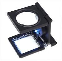 Star Magic 2led 8X Magnifying Glass(Black)