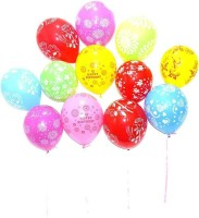 KSM Printed KSM101 Balloon Bouquet(Multicolor, Pack of 50)