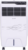 View Hindware Snowcrest 23 - HO Room/Personal Air Cooler(Black, White, 23 Litres)  Price Online