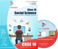 LearnFatafat CBSE Class 10 Social Science Full Course DVD(DVD)