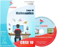 LearnFatafat CBSE Class 10 Mathematics E learning Video Course - DVD(DVD)