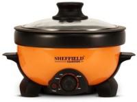 Sheffield Classic SH-5003 Electric Rice Cooker(1.2 L, Orange)
