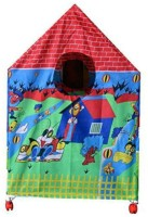 VEZOL Kids Play Tent House with Revolving Wheels(Multicolor)
