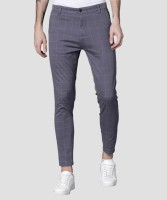 Highlander Slim Fit Men's Grey Trousers