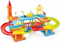 Lattice Educational Kids Building Block Train(Multicolour) - Set of 45(Multicolor)