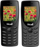 Hicell C1 Tiger Combo of Two Mobiles(Black&Grey)