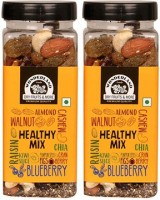 WONDERLAND Foods 10 in 1 Healthy Mix, 400g (Mix of 10 Dry Fruits, Seeds & Berries) Assorted Fruit(2 x 200 g)