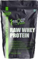 1 Scoop Nutrition Raw Whey Protein Powder 1 kg - With Digestive Enzymes, Whey Protein Concentrate - Whey Protein(1 kg, unflavored - Whey Protein)