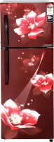 View Haier 278 L Frost Free Double Door 3 Star Refrigerator(Red Flower, HEF-25TRF) Price Online(Haier)