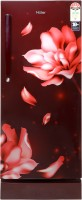 View Haier 195 L Direct Cool Single Door 5 Star Refrigerator(Red Jasmine, HRD-1955PRJ-E)  Price Online
