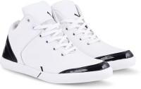 Kenix World White Long Casual Shoe Casuals For Men(White)