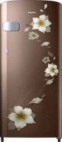 SAMSUNG 192 L Direct Cool Single Door 2 Star Refrigerator(Star Flower Brown, RR19N2Y22D2/NL)