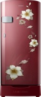 SAMSUNG 192 L Direct Cool Single Door 2 Star Refrigerator(Star Flower Red, RR19N2Z22R2/NL)