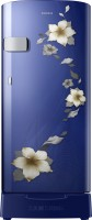 SAMSUNG 192 L Direct Cool Single Door 2 Star Refrigerator(Star Flower Blue, RR19N2Z22U2/NL)