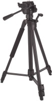LS-LetsShop Camera Stand With Three-Dimensional Head & Quick Release Plate Tripod(Black, Supports Up to 1500 g)