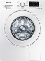 Samsung 7 kg Inverter with Hygiene Steam Fully Automatic Front Load with In-built Heater White(WW70J42E0IW/TL)