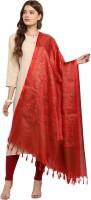 Ratnavati Cotton Blend, Art Silk Self Design Women Dupatta
