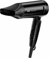 Braun HD 350 Hair Dryer(1600 W, Black)