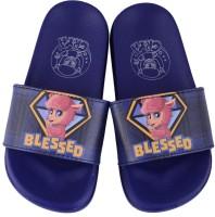 CRYA Boys & Girls Slip On Slipper Flip Flop(Blue)