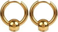 Men Style Hoop Earrings Stainless Steel Punk Men Earrings Ball Pendant Circle Ring Earring Piercing Jewelry Earrings Christmas Gift Stainless Steel Hoop Earring