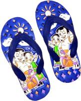 MI Footwear Boys & Girls Slip On Slipper Flip Flop(Blue)