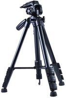 Goldtech Good Quality 5208 Camera And Mobile With Bluetooth Remote Tripod(Black, Supports Up to 2500 g)
